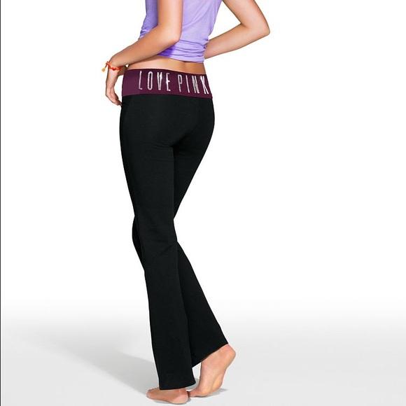 💸FINAL SALE💸 Foldover Waist Bootcut Yoga Pants. M 568baeca7fab3a43070aa83b c7fb3006029f