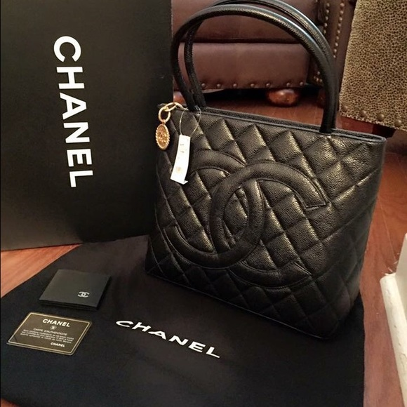 be1e065a9335 CHANEL Bags | Brand New Never Carried Medallion Tote | Poshmark