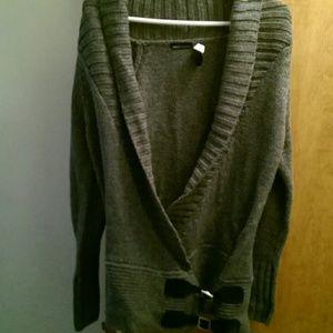 Tunic sweater moda international moda international knit sweater