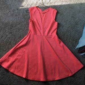 Coral/Orange Dress