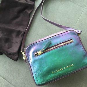 Etienne aigber irisdescent handbag