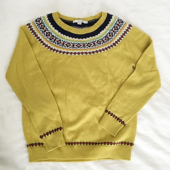 65% off Boden Sweaters - Boden Fair Isle Sweater from Michele's ...