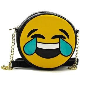 Handbags - NWT women fashion emoji hand bag cross body purse