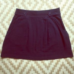 NWT urban outfitters dark blue mini skirt