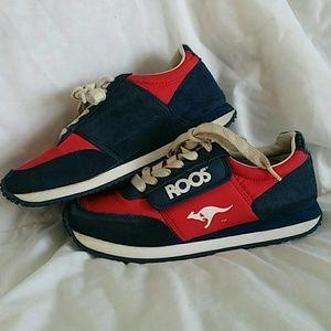 buy popular 92de1 73e23 Kangaroo Shoes - SALE! 80 s Vintage KANGAROOS