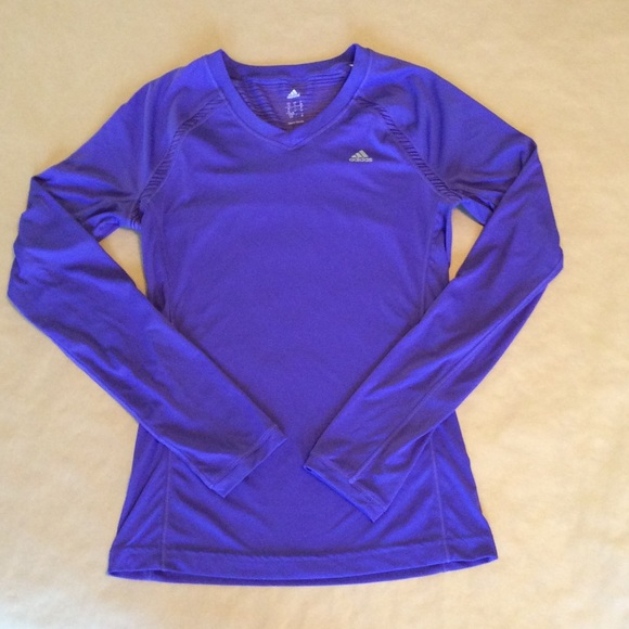 Adidas Tops - Adidas Dri-fit long sleeve shirt c81010ebb198