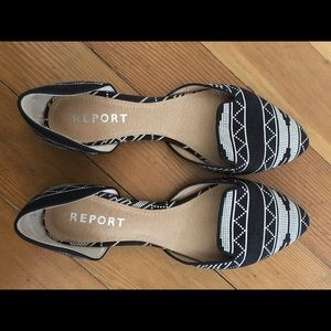 Report Shoes - D'orsay printed shoe
