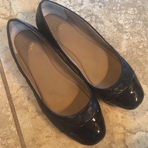 Ann Taylor Black Ballet Flats