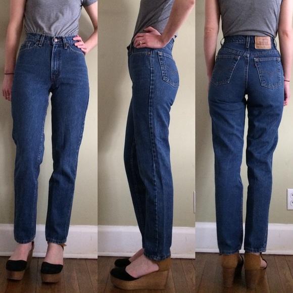 a35bc3c4 Levi's Jeans | Levis 512 High Waist Mom Sz 30 | Poshmark