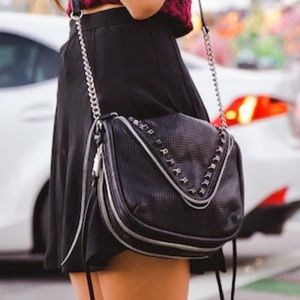 She+lo Handbags - SHE+LO studded crossbody