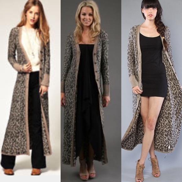 Free People - Free People maxi duster cardigan sweater from ...