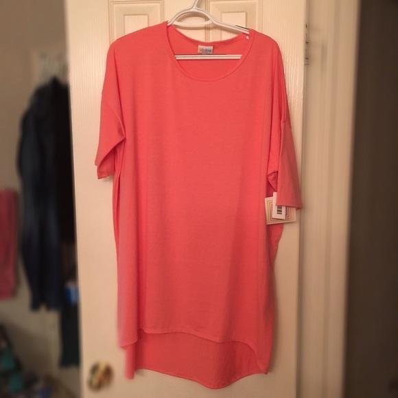 Lularoe Lularoe Pink Irma Style Tunic Size Large From