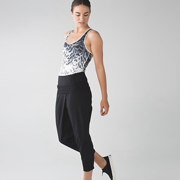 62% off lululemon athletica Pants - Lululemon Dance To Yoga Pant ...