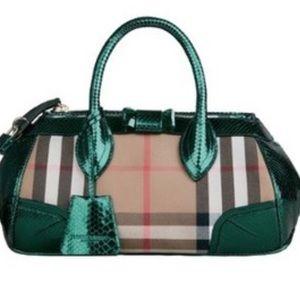 Burberry Bags - Burberry Prorsum The Blaze Bag with Python trim 26633a0cd6d61