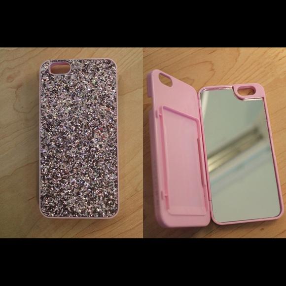 new arrival cf6c9 636d8 Victoria's Secret mirror/card holder phone case