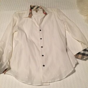 Burberry Brit White Shirt