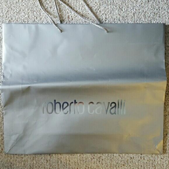 c1dfcd0c7f Roberto Cavalli Authentic Shopping bag. M 568c4830b4188e87190b23ff