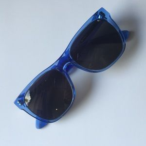 Retrosuperfuture Accessories - Retrosuperfuture clear blue sunglasses