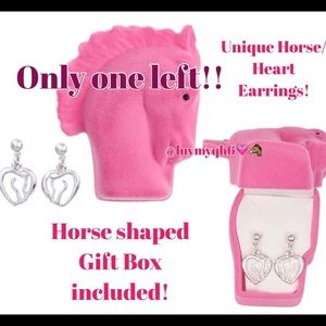Horse Silhouette Earrings Last One!