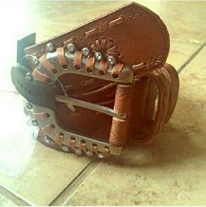 Miss Me Accessories - Miss Me belt sz small NWT