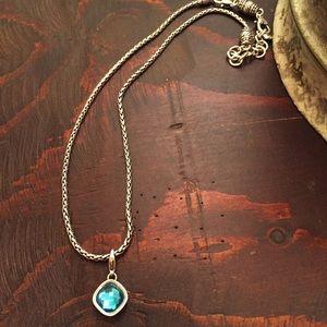 Brighton Jewelry - Brighton Aquamarine Necklace