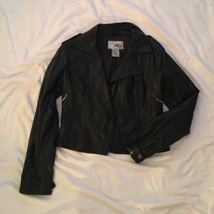 Jackets & Blazers - Faux Leather Jacket-Final Price-Taking to resale
