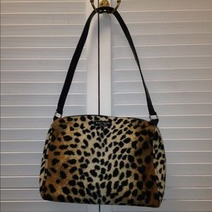 kate spade animal print bag on Poshmark