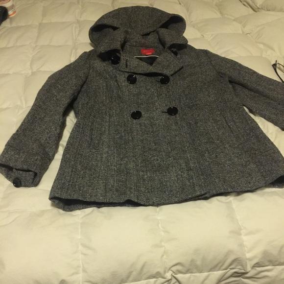 16533140b59 Esprit hooded tweed coat