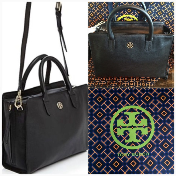 98fd2329fde NWT○TORY BURCH Leather Brody TOTE