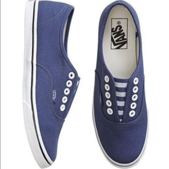 Authentic Lo Pro Navy Striped Vans ⚓ . M 5699eb576802780c6d02115e ab7412f63656