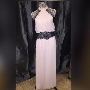 Make a reasonable offer Black and blush pink dress
