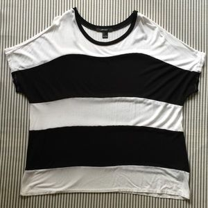 Forever 21 Wide Stripe Tee