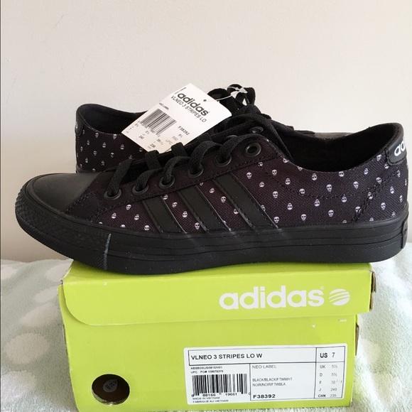 marca tallarines comprar  adidas Shoes | Listing Adidas Neo 3 Stripes Low Size 7 | Poshmark