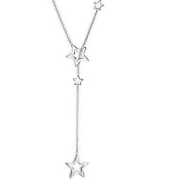 e25c8f4e24a55 100% Authentic - Rare Tiffany Star Lariat Necklace