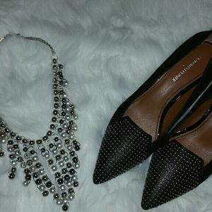 Donald J. Pliner Shoes - Black Pump Silver Studs
