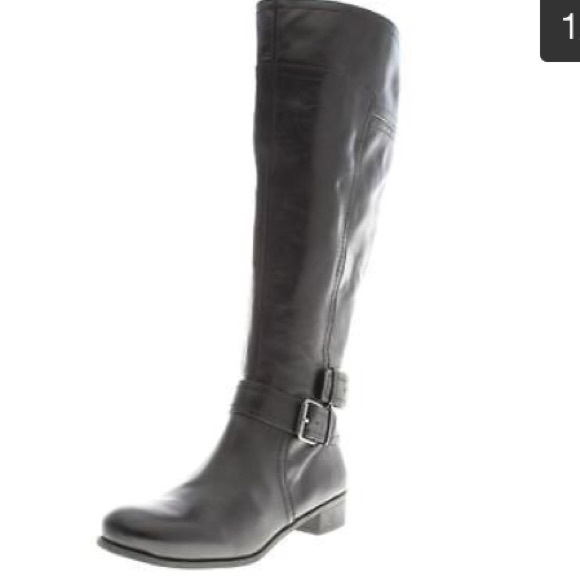 bce9f3a8363 Nine West Shiza Black Tall Boot. Size 9. M 568ca727b5643e817b0bb09b