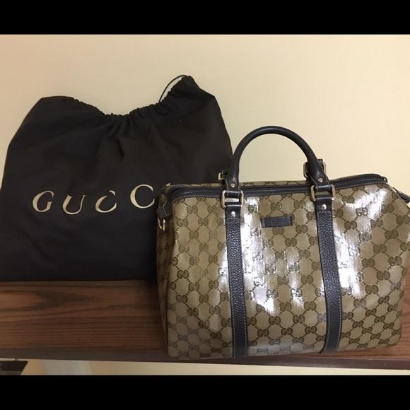 23b799de584ebc Gucci Handbags - Gucci Guccissima Leather Boston Bag