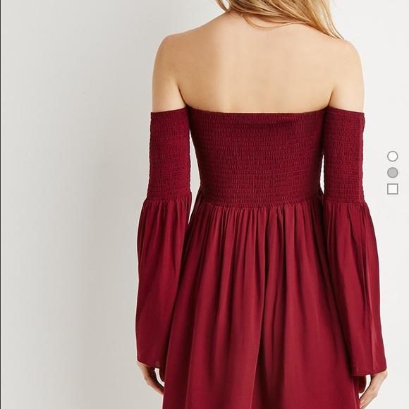 89232fd2b1 Wine colored smock dress. NWT. Forever 21. M 568cbca147da8153dc0bbec2.  M 568cbca24e6748bdd10bcaa6. M 568cbca387dea02ef60bc3ee.  M 568cbca47eb29fbb790bc95c