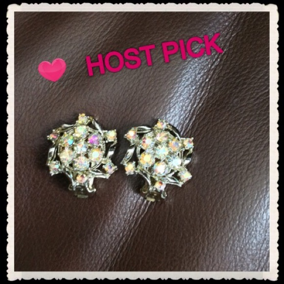 aba572ac4 Jewelry | Host Pick Vintage Aurora Borealis Earrings | Poshmark