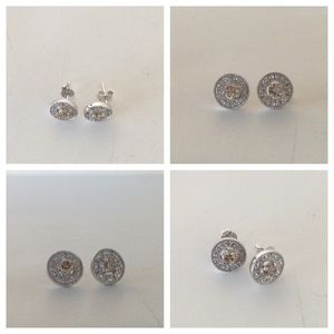 .925 sterling silver earrings