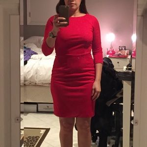 Size 2 red dress campaign