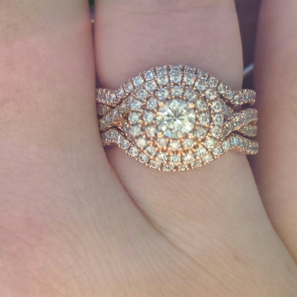 97ac8fb8a Neil Lane Jewelry | Rose Gold Wedding Set | Poshmark
