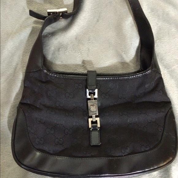 bfb42c2994e04 Gucci Handbags - Authentic vintage black gucci purse ( small)