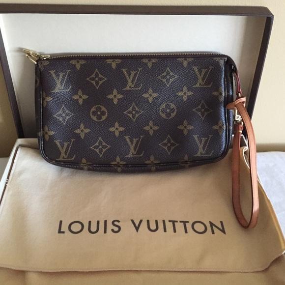 Louis Vuitton Pochette Monogram. Listing Price: $300