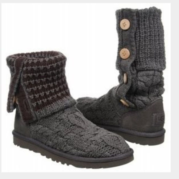 34 Off Ugg Shoes Gray Ugg Leland Boot From Denise