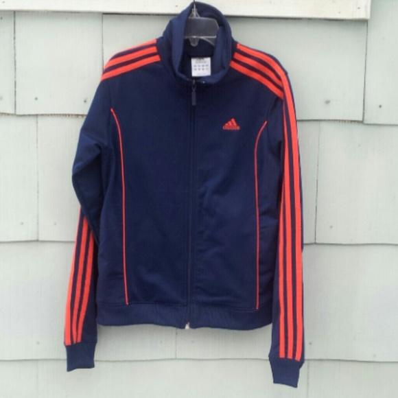 Adidas Jacket Red Stripes Thehampsteadfactory Co Uk