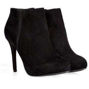 Ash Shoes - BRAND NEW Ash black suede booties boots shoes. 11M