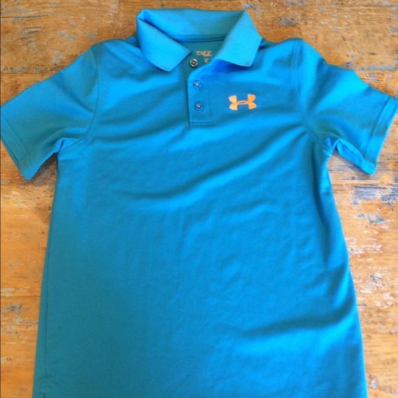 ac8af5021 Youth Medium, Under Armour collared shirt. M_568d6627feba1f11c90c32db