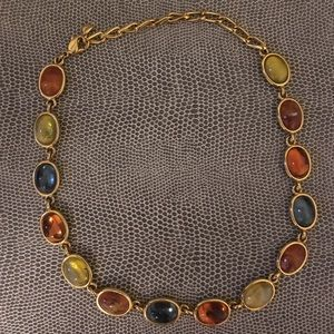 Colorful Gem Necklace