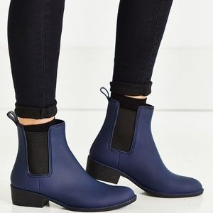 Jeffrey Campbell Shoes - 🎉HP🎉FINAL Jeffrey Campbell  rain boot matte blue